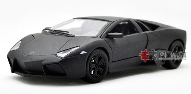 ขาย พรีออเดอร์ โมเดลรถเหล็ก โมเดลรถยนต์ Lamborghini Reventon สีดำด้าน 1:24 มี โปรโมชั่น