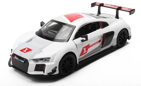 พร้อมส่ง รถโมเดล รถเหล็ก มีไฟมีเสียง Audi R8 LMS 1:32 มี โปรโมชั่น