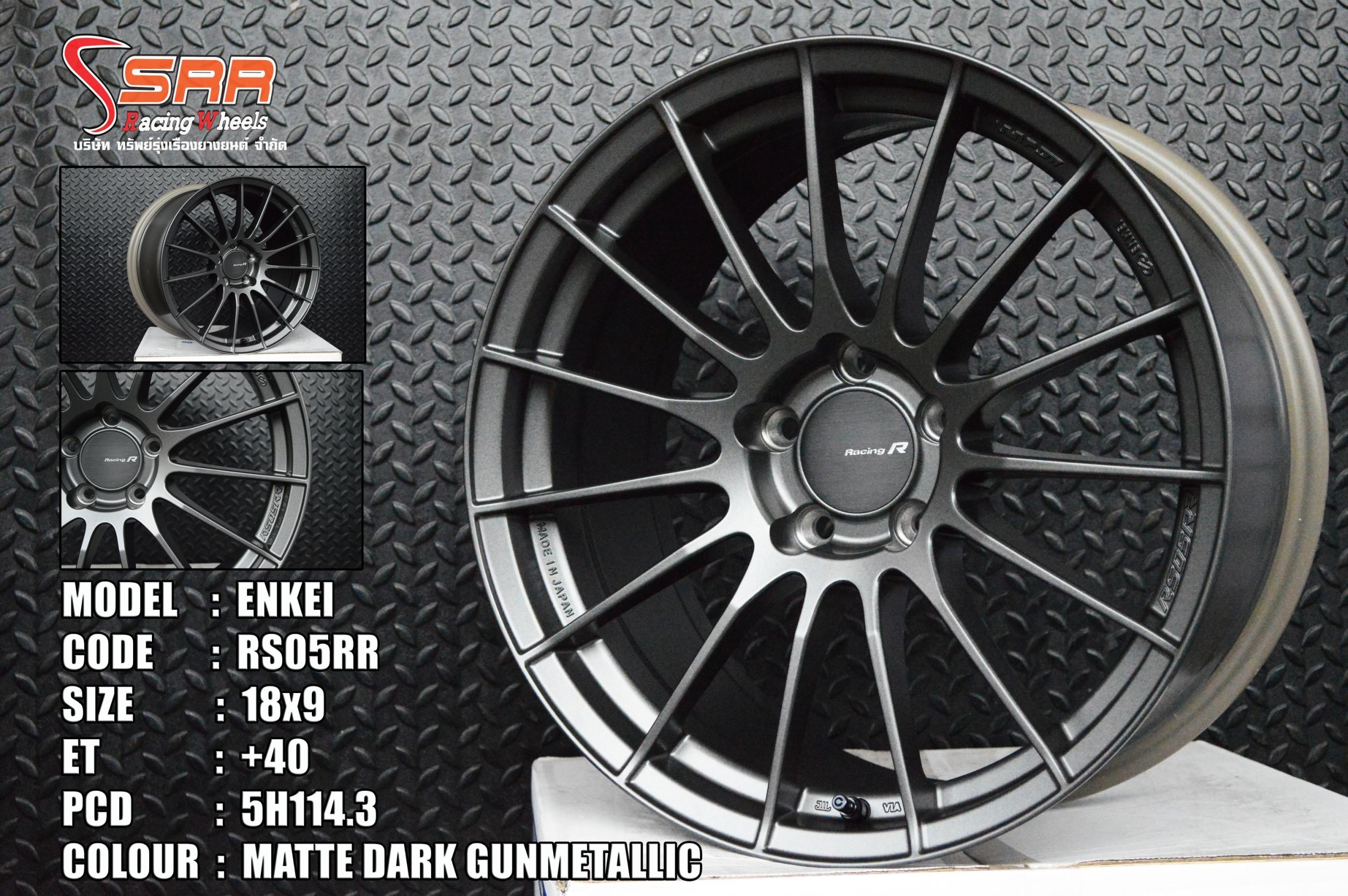 ล้อแท้ ENKEI RS05RR ขอบ18 ลดราคา