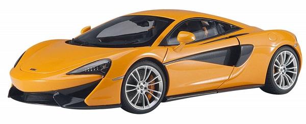 ขาย พรีออเดอร์ โมเดลรถเหล็ก โมเดลรถยนต์ Autoart Mclaren 570S ส้ม สเกล 1:18 มี โปรโมชั่น