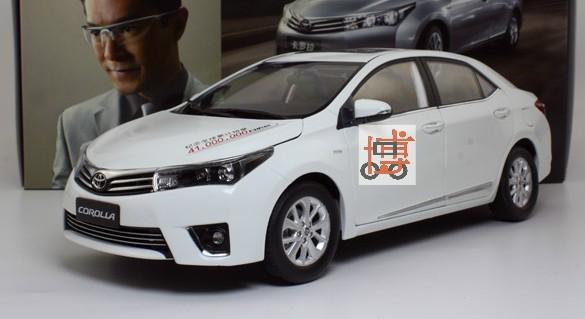 Pre Order โมเดลรถ Toyota Corolla 2014 ขาว สเกล 1:18 งานคุณภาพ รุ่นขายดี มีโปรโมชั่น