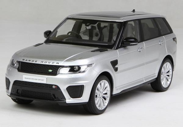 Pre Order โมเดลรถ Range Rover Sport เงิน 1:18 รุ่นหายากสุดๆ มีโปรโมชั่น