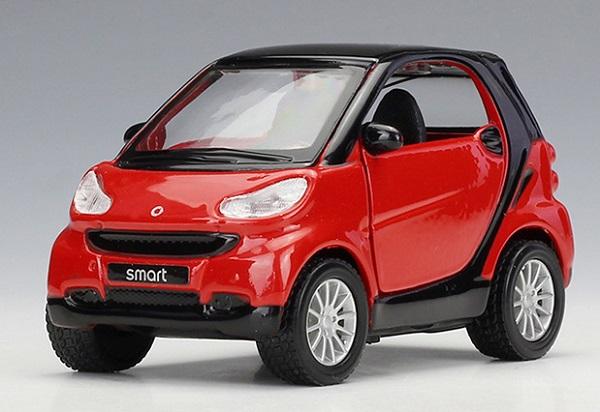 พร้อมส่ง รถโมเดล รถเหล็ก มีไฟมีเสียง Benz Smart 2 1:32 มี โปรโมชั่น
