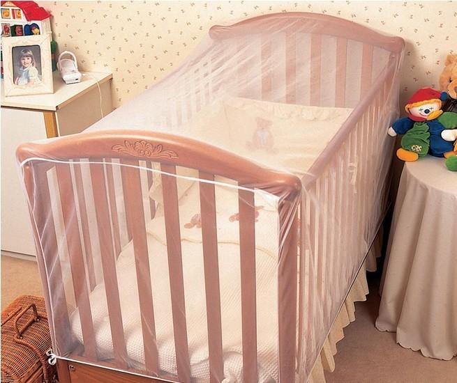 มุ้งคลุมกันยุง มุ้งคลุมเตียงเด็กอ่อน Clippasafe cot insect net