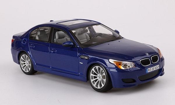 Pre Order โมเดลรถ BMW M5 น้ำเงิน 1:18 รุ่นหายากสุดๆ มีโปรโมชั่น