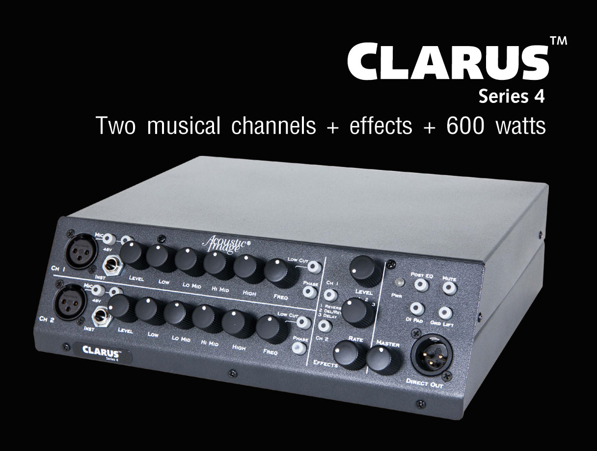 ACOUSTIC IMAGE Amp. - CLARUS Series 4