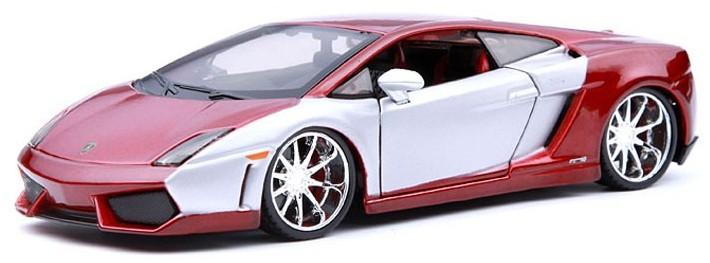 ขาย พรีออเดอร์ โมเดลรถเหล็ก โมเดลรถยนต์ Lamborghini Gallardo two tone 1:24 มี โปรโมชั่น