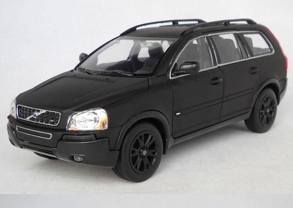 ขาย พรีออเดอร์ โมเดลรถเหล็ก โมเดลรถยนต์ Volvo XC90 ดำด้าน 1:24 สเกล มี โปรโมชั่น