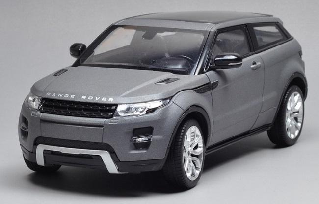 ขาย พรีออเดอร์ โมเดลรถเหล็ก โมเดลรถยนต์ Land Rover Evoque 2 ประตู 1:24 สเกล สีเทา มี โปรโมชั่น