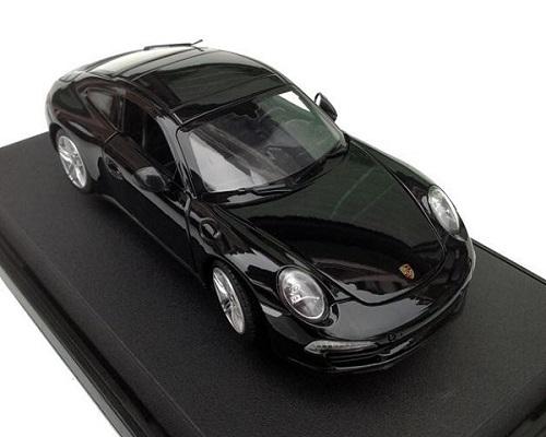 ขาย พรีออเดอร์ โมเดลรถเหล็ก โมเดลรถยนต์ Porsche Carrera S 911 1:24 สเกล ดำ มี โปรโมชั่น