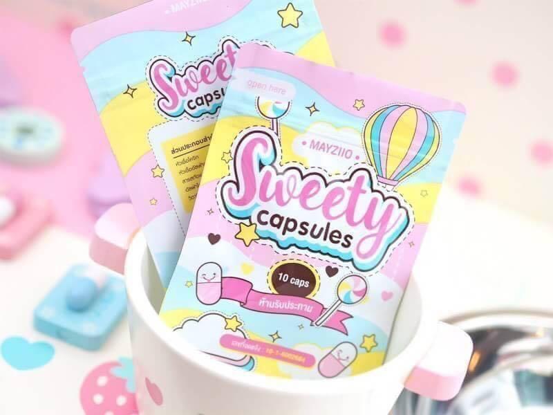 SweetyCapsules by Mayziio สวีตตี้แคปซูล เมซิโอ (แบบซอง 10 เม็ด)