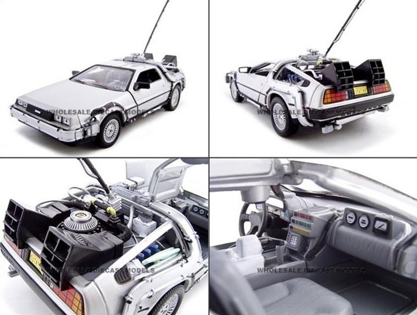 โมเดลลรถ โมเดลรถเหล็ก โมเดลรถยนต์ back to future 1