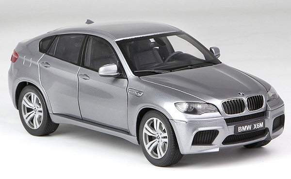 Pre Order โมเดลรถ BMW X6M เทา 1:18 รุ่นหายากสุดๆ มีโปรโมชั่น