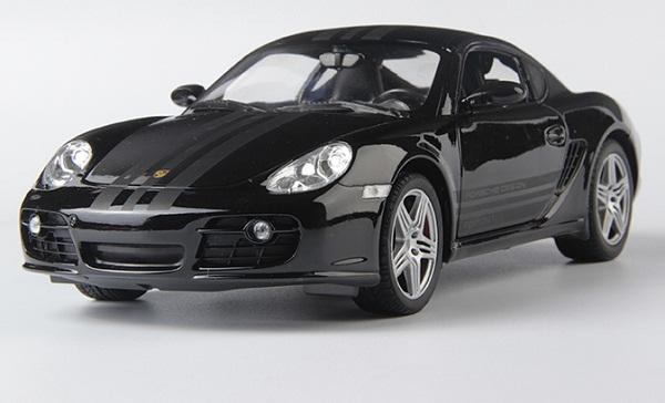 Pre Order โมเดลรถ Porsche cayman S ดำ 1:18 รุ่นหายากสุดๆ มีโปรโมชั่น