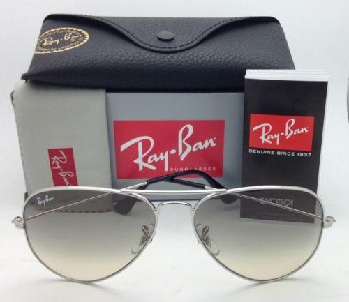 Ray Ban Aviator RB3025 003/32 Grey Gradien 58mm