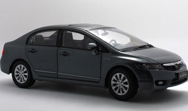 Pre Order โมเดลรถ Honda Civic gen 8 2009 เทา 1:18 รุ่นหายาก งานคุณภาพ มีโปรโมชั่น