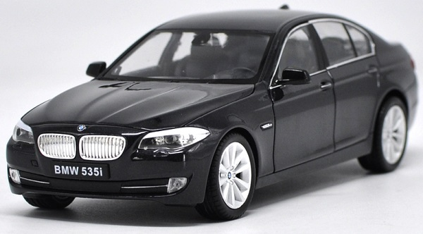 ขาย pre order โมเดลรถยนต์ BMW 535i ดำ 1:24 มี โปรโมชั่น