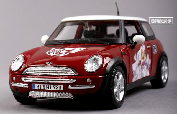 ขาย pre order โมเดลรถยนต์ QQ Mini 1:24 แดง หายากมาก มี โปรโมชั่น