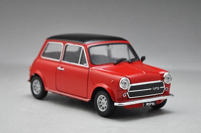 ขาย pre order โมเดลรถยนต์ BMW Mini 1300 bean 1:24 สีแดง มี โปรโมชั่น