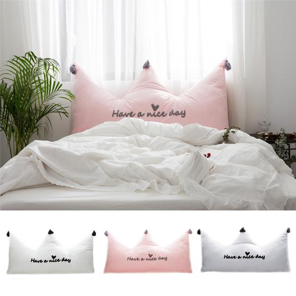 หมอนหัวเตียงเจ้าหญิง หมอนพนักพิงมงกุฏเจ้าหญิง สไตล์เกาหลี