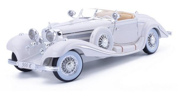 Pre Order โมเดลรถ Benz 500K ขาว1:18 รุ่นหายากสุดๆ มีโปรโมชั่น