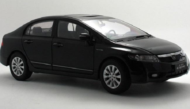 Pre Order โมเดลรถ Honda Civic gen 8 2009 ดำ 1:18 รุ่นหายาก งานคุณภาพ มีโปรโมชั่น สำเนา