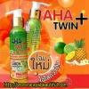 (โฉมใหม่) โลชั่นมะนาวสับปะรด Twin + AHA 90% Collagen