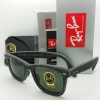 Ray Ban Wayfarer RB2140F 1162 Black Denim Alternative 52mm