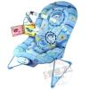 เก้าอี้เปลนอนปรับระดับได้( baby bouncer)..สีฟ้า ...จัดส่งฟรี