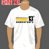 T-SHIRT : 13th YEAR (SIZE : XL)
