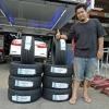 ATREZZO R01 195/50-15 เส้น 1500 ยางซอฟ