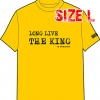 T-SHIRT : LONG LIVE THE KING (SIZE : L)