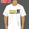 T-SHIRT : 13th YEAR (SIZE : M)