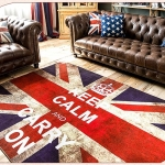 พรมห้องนั่งเล่น ลายธงชาติอังกฤษ