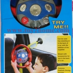 พวงมาลัยเด็กเล่นติดกระจกรถ