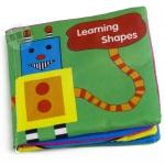 หนังสือผ้าเรียนรู้รูปทรง Shapes