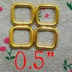 ห่วงสี่เหลี่ยม5หุน ทอง
