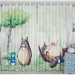 ผ้าม่าน My Neighbor Totoro โทโทโร่ เพื่อนรัก