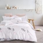 ผ้าปูที่นอนสีขาว สีพื้น พิมพ์ลาย สไตล์โรงแรม (Hotel bedding Style)