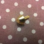 หมุดกรวย15mm ทอง