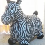 ตุ๊กตายางหุ้มผ้า (ถอดได้) รูปม้าลาย