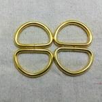 ห่วงตัวดี1.5นิ้ว ทอง (ลวด5mm)