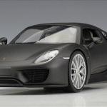 ขาย พรีออเดอร์ โมเดลรถเหล็ก โมเดลรถยนต์ Porsche 918 Spyder สีดำด้าน 1:24 มี โปรโมชั่น