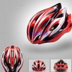 หมวกจักรยาน Giant ทรงสปอร์ต สีแดงแบบที่3