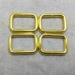 ห่วงสี่เหลี่ยม1นิ้ว ทอง (ลวด4.5mm)