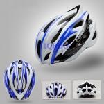 หมวกจักรยาน Giant ทรงสปอร์ต สีน้ำเงินขาวดำแบบที่2