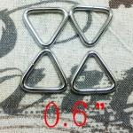 ห่วงสามเหลี่ยม6หุน เงิน