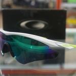 แว่นตา OAKLEY FINGERPRINT COLLECTION M2 ขาว-เขียว
