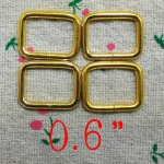 ห่วงสี่เหลี่ยม6หุน ทอง