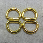 ห่วงตัวดี6หุน ทอง (ลวด5mm)
